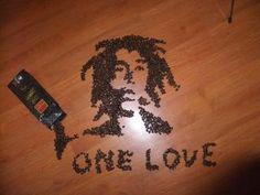 Marley Coffee art #onelove