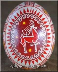 Christmas pasanky ~ FELT  CRAFT  IDEA -  Make on Egg Shaped Background,~ For Ornament!
