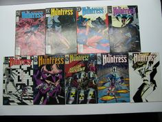 THE HUNTRESS #3,5,6,7,8,9,10,11,12 LOT OF 9 DC COMICSGraded comics have been professionally graded by a third party grading company. They have been ... #comics #huntress