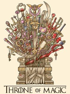 Throne of Magic by Gilles Bone Yes.