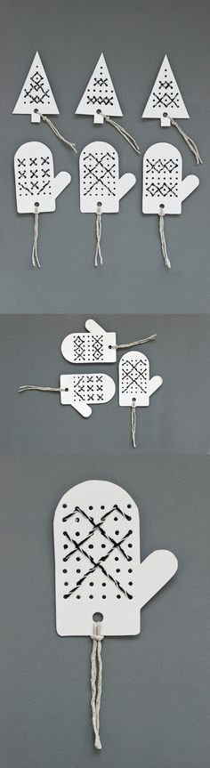 Christmas tags from Anness blogg