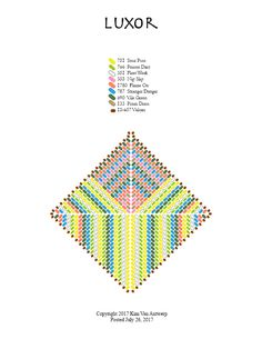 free beading patterns from Kim Van Antwerp Triangle Square, Triangle Pattern, Beading Patterns Free, Peyote Patterns, Beading Tutorials, Beading Ideas, Bead Patterns, Seed Bead Projects, Necklaces