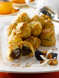 Snack Recipes, Snacks, Eclairs, Relleno, Chips, Sweets, Vegetables, Cooking, Cake