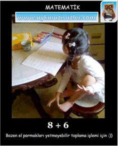 Matematik - Bazen parmaklar yetmeyebilir.