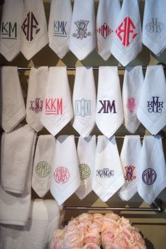 #monogrammedtowels #madison