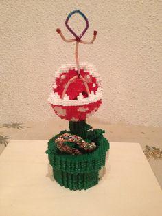 Planta carnívora echa con hama beads