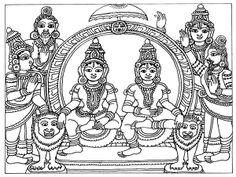 Heritage of India: Beautiful Kalamkari Painting Images Saree Painting, Kalamkari Painting, Mural Painting, Mural Art, Fabric Painting, Kalamkari Fabric, Mysore Painting, Madhubani Painting, Indian Traditional Paintings