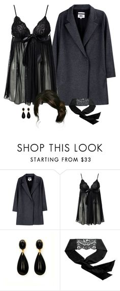 """""""tonight is just one night - sixth"""" by annefs1 ❤ liked on Polyvore featuring MM6 Maison Margiela, Hot Anatomy and Myla"""