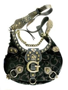 Black Santorini Bag from Guess Fall Handbags, Guess Handbags, Purses And Handbags, Tote Purse, Purse Wallet, Guess Purses, Color Trends, Personal Style, Fashion Ideas