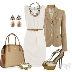 """Another work outfit. I adore every single element. """"Nine to Five"""" by ttalley001 on Polyvore"""