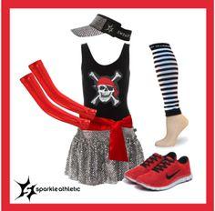 pirate running costume