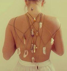 Crystal Necklaces |