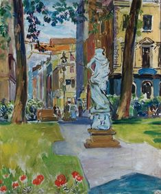 huariqueje:  Soho Square - Duncan Grant Scottish 1885-1978