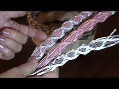 Cesteria con periodicos. Entrelazamiento para el agarradero. Parte 17. Vídeo tutorial de la serie de tejido de agarraderos para artículos de tubitos de perió...