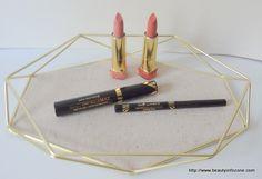 MAX FACTOR X mascara, eyeliner and lipsticks