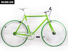 Green (single speed e fixed) Cool Designs, Bicycle, Vehicles, Green, Motorcycles, Album, Play, Logo, Cars