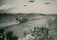 19 Kasım  1938 Atatürk'ün cenazesinin nakledilişi