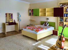 Gyerekszoba, egy kislány igényei szerint készült bútorokkal berendezve. Toddler Bed, Furniture, Home Decor, Child Bed, Decoration Home, Room Decor, Home Furnishings, Home Interior Design, Home Decoration