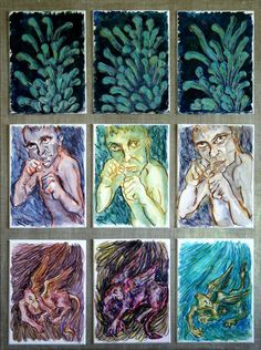'Inneres+und+Äußeres+3'+von+funkyzoo+bei+artflakes.com+als+Poster+oder+Kunstdruck+$16.63