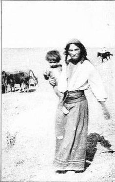 Gypsy With Child