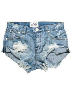 One Teaspoon Shorts Size 27 one teaspoon size