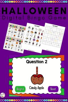 !Halloween Bingo Comes with everything you need (except chips and prizes). Great for Halloween parties. Great for a Halloween center or rainy day activity. The New School, New School Year, Going Back To School, Learning Games, Learning Resources, Teaching Ideas, School Resources, Teacher Resources, Teacher Pay Teachers