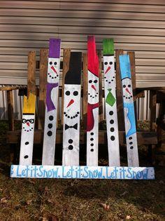 Pallet Snowmen (my upload)
