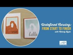 ▶ Undefined Stamp Carving: From Start to Finish - YouTube great tips for creating your own custom carved rubber stamps. Contact me to order your kits today at www.pattystamps.com