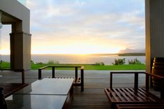 What a sunset! Seen at Benguela Cove Lagoon Wine Estate Wine Country, Outdoor Furniture, Outdoor Decor, Sun Lounger, Wedding Venues, Sunsets, Deck, Home Decor, Wedding Reception Venues