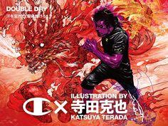 チャンピオン、イラストレーター・寺田克也とコラボで新ビジュアルの写真2