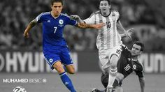 This kid shut Messi down in the Maracana in the grandest stage of sports, while the entire world was watching. #Besic