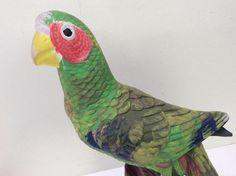 HOLLAND MOLD ceramic parrot bird painted figurine statue figure 11 inch #Holland