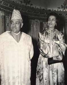Prince Moulay Hassan Ben El Mehdi and Princess Lala Fatima Zahra