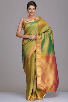 Real Zari Kanjeevaram Silk Sarees