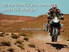 """Be the CHANGE you want to see in THE WORLD"" -Mahatma Gandhi #inspirationalsunday #gulf_medical #gmc #quote #saudi #jeddah #riyadh #dammam #photo #"