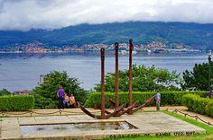 Vigo - Espagne - Galice - 232 le parc au-dessus de Paseo Rosalía de Castro