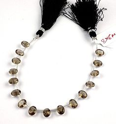 1 Strand Natural Smoky Quartz Faceted Oval Shape 8x6mm Br... https://www.amazon.com/dp/B06XRVS5C6/ref=cm_sw_r_pi_dp_x_RLn0yb9JRPR3P