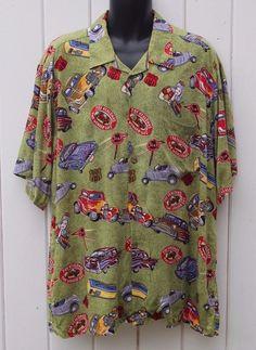ab68fb8e Details about Reyn Spooner Joe Kealoha's Hawaiian Shirt Vintage Flowers