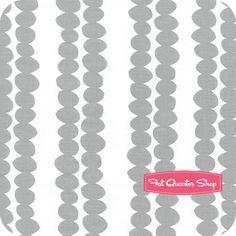 Bella Grey Beaded Chain Yardage SKU# 35211-5 - Fat Quarter Shop