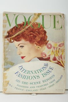 Vogue, March 1954 The appearance of her designs in these magazines firmly established Sybil as an internationally recognised designer on par with those from Paris, London and New York.