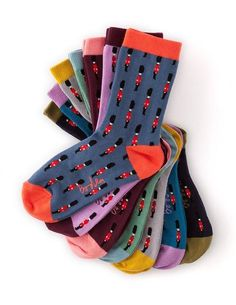 Ankle Sock Socks & Tights at Boden fun! Clothing Photography, Ad Photography, Boden Uk, Flatlay Styling, Happy Socks, Cool Socks, Awesome Socks, Fashion Socks, Ankle Socks