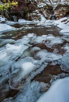 Brrrrr by David Bogard | Ricketts Glen State Park, PA