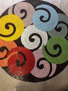I love my new mosaic table