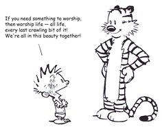 religious calvin and hobbes - Google Search