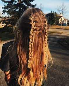 """54 Cute and Easy Long Hairstyles for School for Fall and Winter - Hairstyle ., Easy hairstyles, """" 54 Cute and Easy Long Hairstyles for School for Fall and Winter - Hairstyle 🅷🅰🅸🆁🆂🆃🆈🅻🅴 ♥ ♥♥ . Easy Hairstyles For Long Hair, Winter Hairstyles, Braids For Long Hair, Trendy Hairstyles, Blonde Braids, Wedding Hairstyles, Simple Hairstyles For School, Edgy Haircuts, Teenage Hairstyles"""