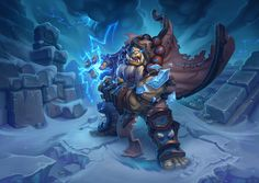 ArtStation - Hearthstone - Thrall, Deathseer, Jerry Mascho
