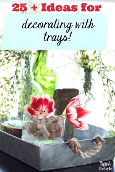 Decorating With Tray