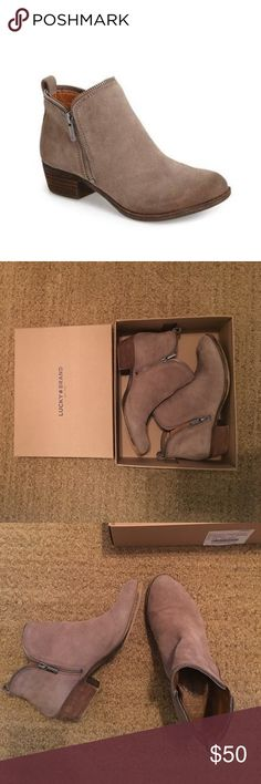 Lucky Brand Bartalino Bootie Comfy and stylish! Great condition no scuffs or damage! Lucky Brand Shoes Ankle Boots & Booties
