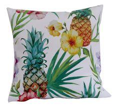liście egzotyczne, ananas, palma, hibiscus