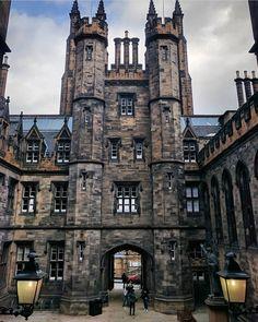 New College, Edinburgh, Scotland